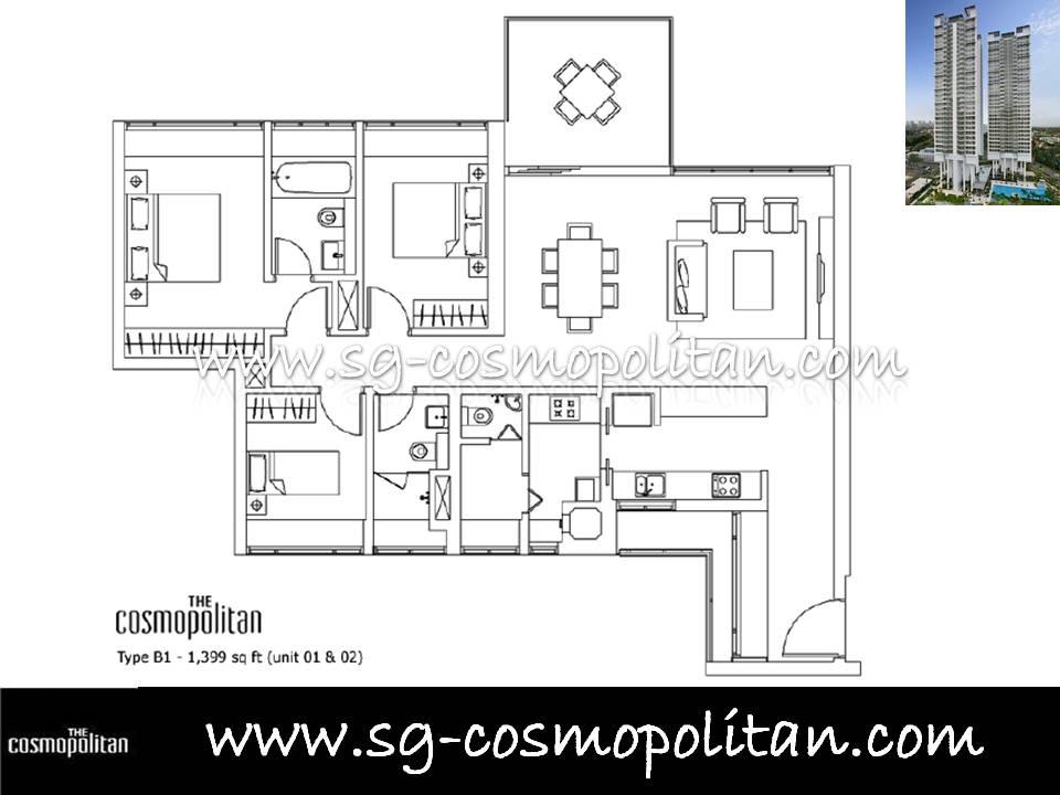 Condo Type Apartment For Rent